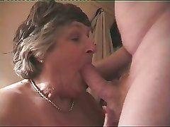 Big Breasted Granny Norma Loves To Ride A Unchanging Cock