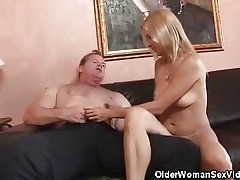 Experienced Honey Strpped And Cock Sucks His Pauper