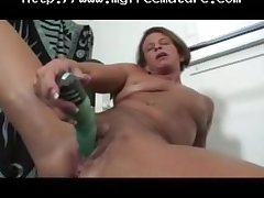 Granny Big Clit Solo Play Connected with The Gym mature mature porn granny old cumshots cumshot