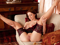 Good-looking milf pussy makes its foremost video appearance