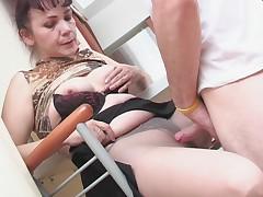 Lillian and Vitas mature pantyhose movie