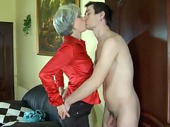 Rita and Vitas hot mam on video