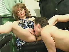 Patty with an increment of Morris hot mama on video