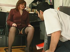 Laura plus Sebastian plugged up mature video
