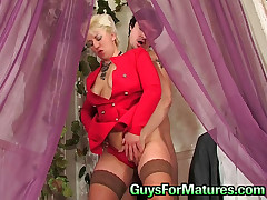 Penny and Adam red hot mature action