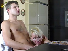Ottilia and Jerry all steamed up mature action