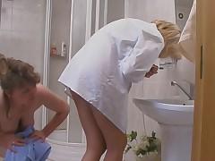 Rebecca and Emmanuel pussyloving mature on video