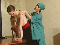 Ethel and Nellie lesbian mature action