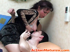 Lillian and Lewis kinky mammy on video