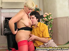 Penny together with Adam hot female parent with respect to action