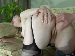 Leonora and Albert anal mature sex movie