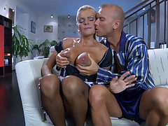 Hannah and Benjamin M gorgeous overprotect on video