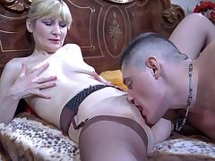 Amelia B and Claudius passionate mature role of