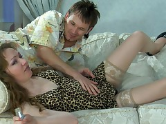 Leila and Rolf furious mature video