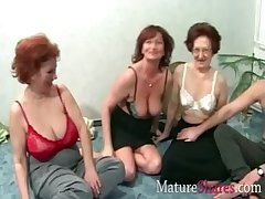 Grannies in gain party