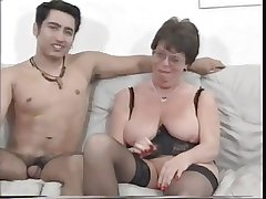 Full-grown French Housewife Fucks