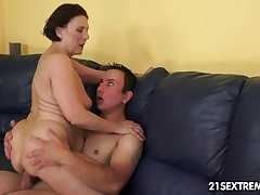 Cock-hungry GILF Margo and her finish finally rent-boy