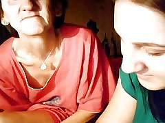 granny with an increment of teen in the first place webcam