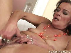 Unpredictable intensify granny masturbate and squirt