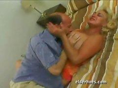 Aurous granny loves sex even after retirement