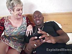Shove around Granny back Creampie Integument