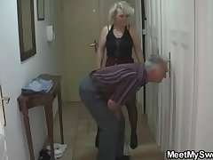 She is tricked secure 3some overwrought his old parents