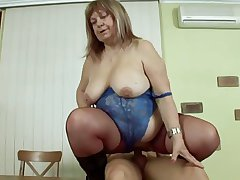 kiki fat granny