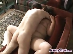Extended Grandma Pleasing Cock And Shafting