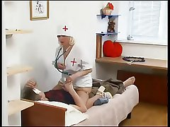 Russian of age nurse