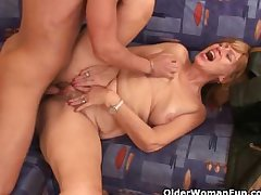 Sexual intercourse wasting away grannies need their faithfully cumshot