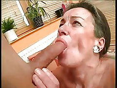 Victorian Granny Drilled By Young Cock BVR