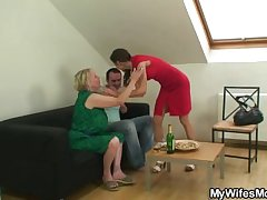 I just fucked my mother inlaw sandbank wife finds out!