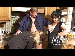 MMV Films Twosome mature wifes parceling out a load of shit