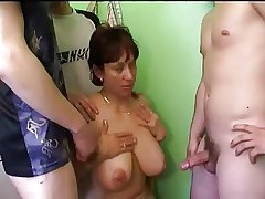Russian mature mom and callers will not hear of son's! Amateur!