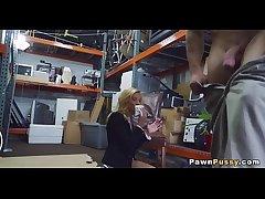 Mature kirmess sells pussy at pawnshop 82  75