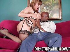 Ava Devine Takes A Fat Load of shit