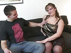 Prepubescence fucks busty mature mother
