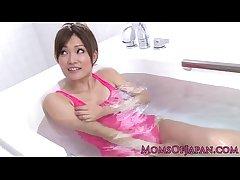 Pink negligee japanese milf wam trifle divertissement