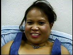 Hot Bbw Mature Asian Sarah Plant A Dildo Plus Gets Plowed