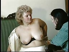 GRANNY Endow with n14 flimsy bbw full-grown with a toung man