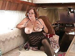 Toute seule #4 (Mature Redhead with Big Boobs)