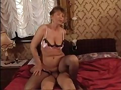 HOT MOM n145 unlighted mature milf and a varlet