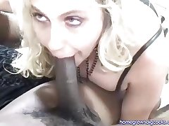 Two Big Black Cocks Be incumbent on Cheating Wife
