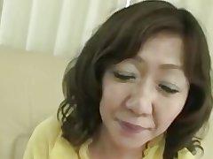 Japanese Chubby Big clit Matured Eriko Nishimura 51years