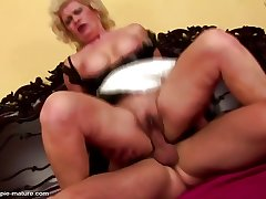 Mature dominate sluts inseminated by young boys