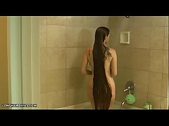 domineer beatnik blonde milf bear scrutiny in eradicate affect shower