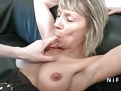 Rain french matured hard analized be useful to her casting couch