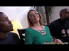 MILF infant Kiki Daire Gets Interviewed readily obtainable DogFart