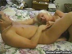 Mature granny enjoys upon someone intercourse
