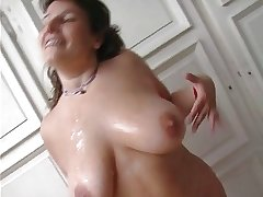 French mature chubby attempt venerable plus young cock